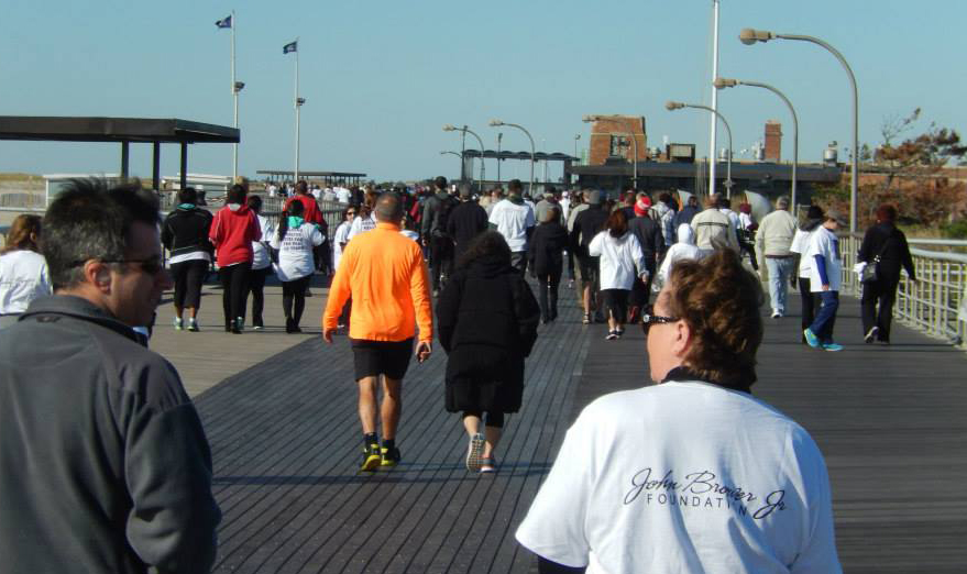 Photo provided by Vanessa Suarez The John Brower Jr. Foundation will be hosting its 2nd annual 5K Walk this Saturday at Jones Beach as part of the nonprofit's efforts to raise awareness about the drug epidemic on Long Island.