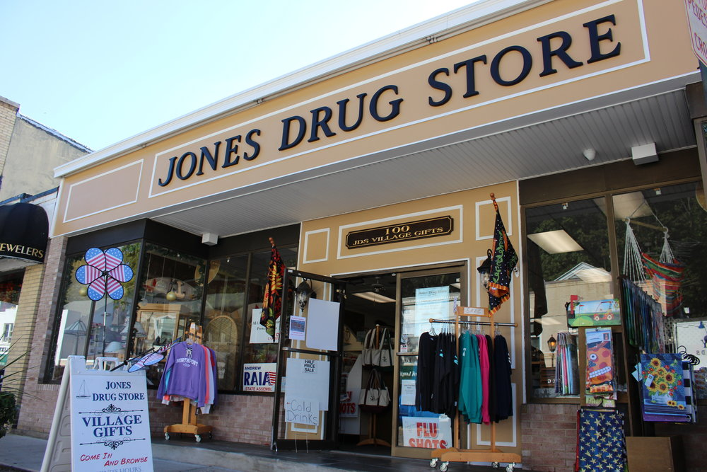 Jones Drug Store/JDS Village Gifts has been serving the Northport community since its inception in 1902.