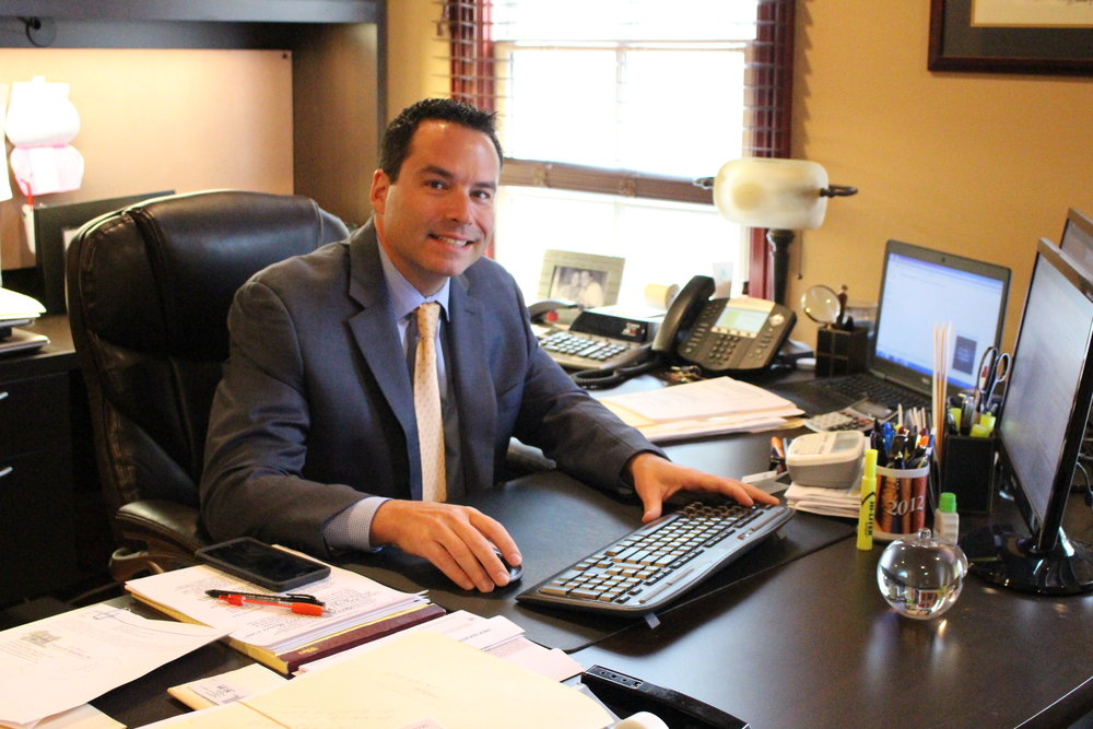 Practicing law for 16 years, Darren Sheehan, owner of Law Offices of Daren E. Sheehan, spends time educating his clients every step of the way.