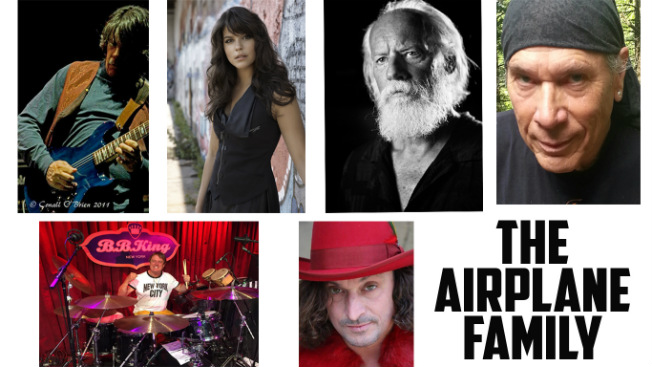 Airplane Family & Friends, pictured above, and Live Dead 69 are set to take the stage at The Paramount on Dec. 14.
