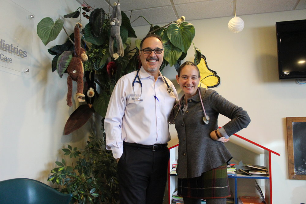 Salvatore Caravella, MD, and Eve Meltzer-Krief, MD, co-partners of Huntington Village Pediatrics, pride themselves on offering a business that has open availability 365 days of the year.
