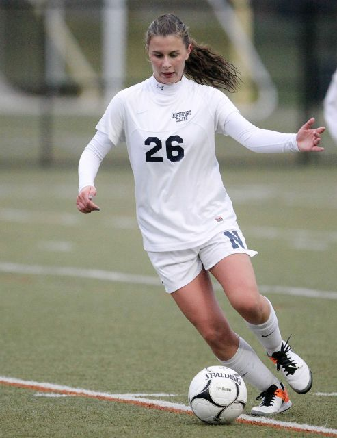 Stephanie Rapp, Northport High School senior defender, has recently been selected for the National Soccer Coaches Association of America High School Girls Soccer All-East Region team.