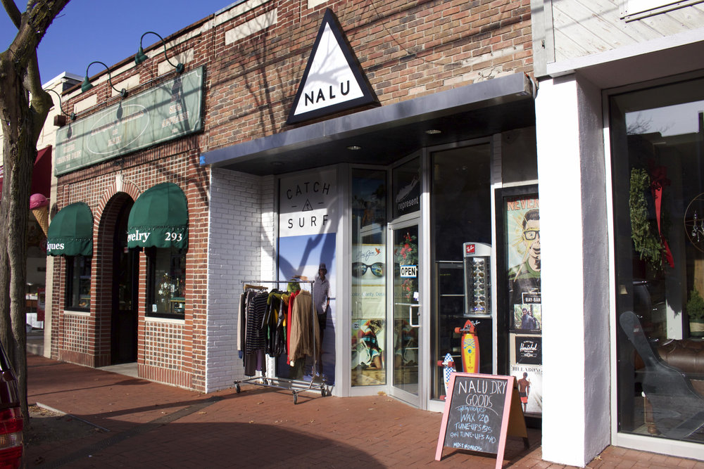 New to the Huntington area, Nalu Dry Goods offers surf, skate and snow apparel and accessories for men, women and youth.