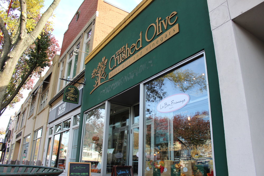 The Crushed Olive of Huntington is one of seven locations on Long Island, including its distributor Veronica Foods that were filed with lawsuit by the North American Olive Oil Association on Monday.