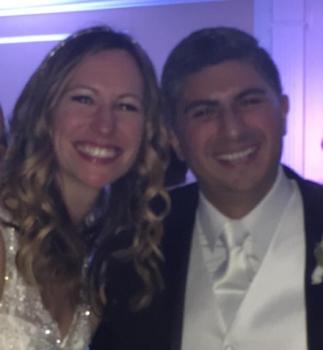 Congratulations Alex and Christina!