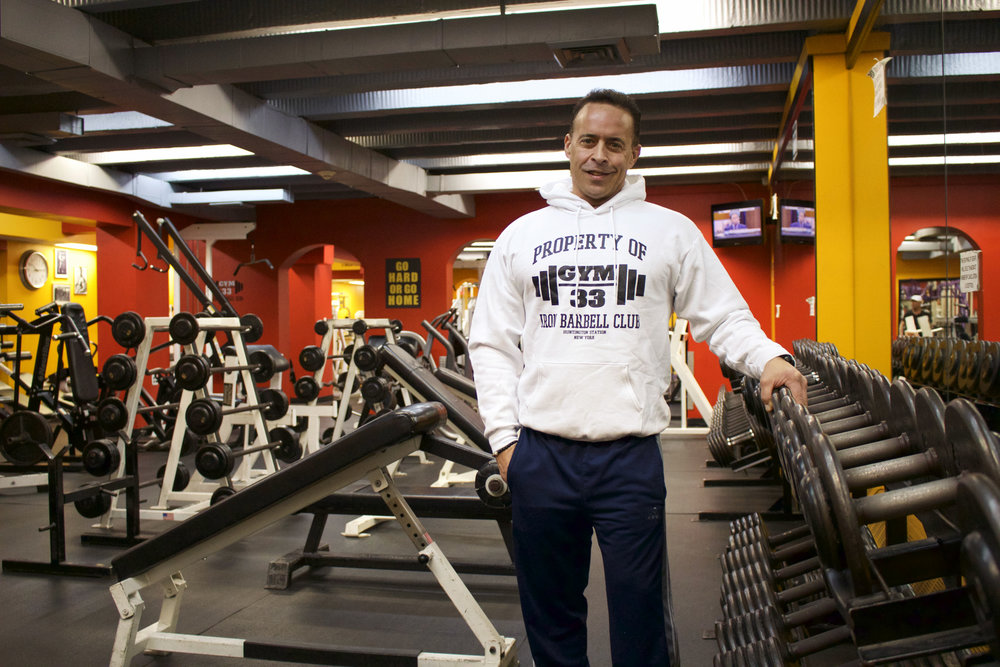 Joe Livoti, owner of Gym 33, said the gym's membership doubled after moving into the Huntington Station location in 2011.