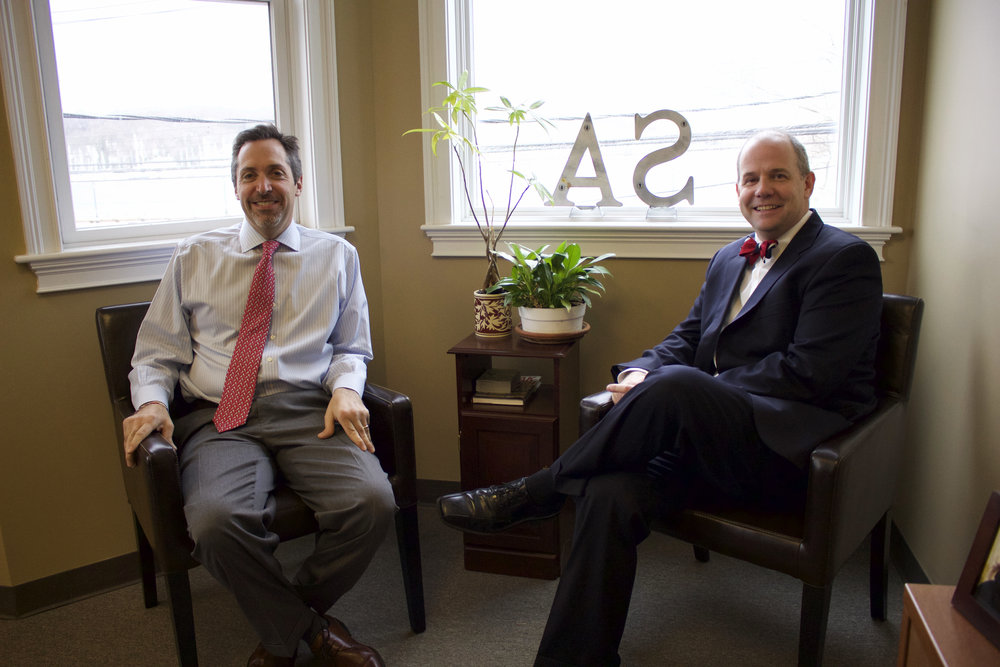 "Daniel Steinberg and Kenneth C. ""KC"" Anna have been working together in the finance industry for the past 26 years and are coming up on their business' 10-year anniversary."