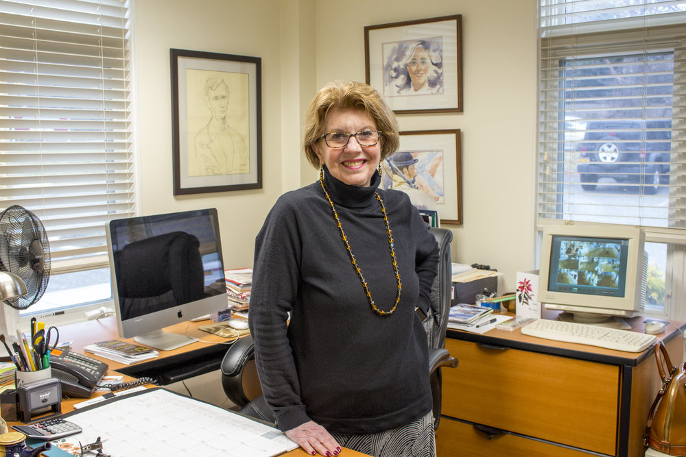 Starting out as a student at the Art League of Long Island, Charlee Miller was so drawn to art and the organization that she is now the center's executive director.