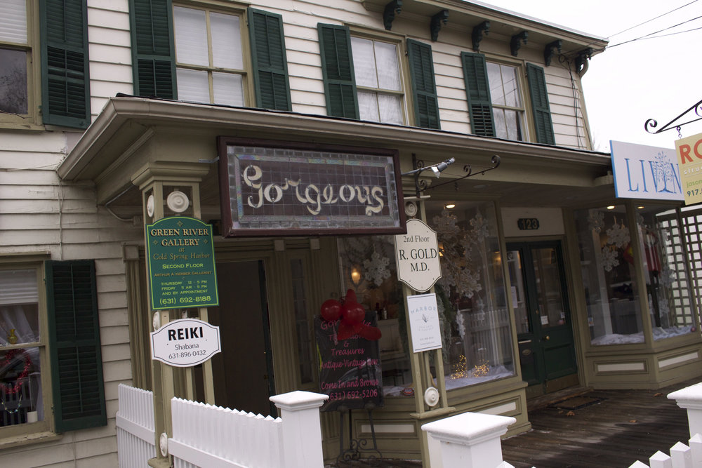 "Gorgeous ""The Salon"" & Treasures has moved around the Town of Huntington several times, moving to its 117 Main Street location in Cold Spring Harbor in October 2016."