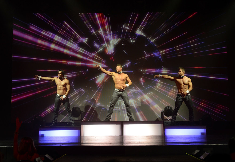 "The Paramount will be roaring with excitement next week as eight Chippendales performers will take over the stage for the ""Chippendales: Best. Night. Ever. 2017 Tour."""