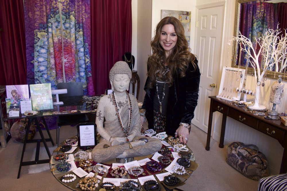 Dana Livoti, owner of Intuition, opened the Cold Spring Harbor business nearly two years ago as a way for people to find their inner peace and celebrate their individual uniqueness.