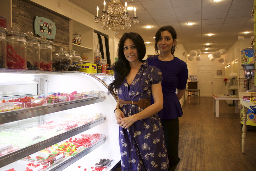 Northport natives and sisters Angela Nisi-MacNeill and Gina Nisi recently opened Carl's Candies on Main Street in Northport Village, keeping the theme of candy after taking over the space of former candy store Harbor Trading.