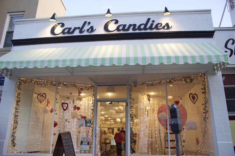 Carl's Candies, which opened in October 2016, sells a variety of candy, specialty items, toys, and artwork and will be bringing in ice cream and other items for the upcoming season.
