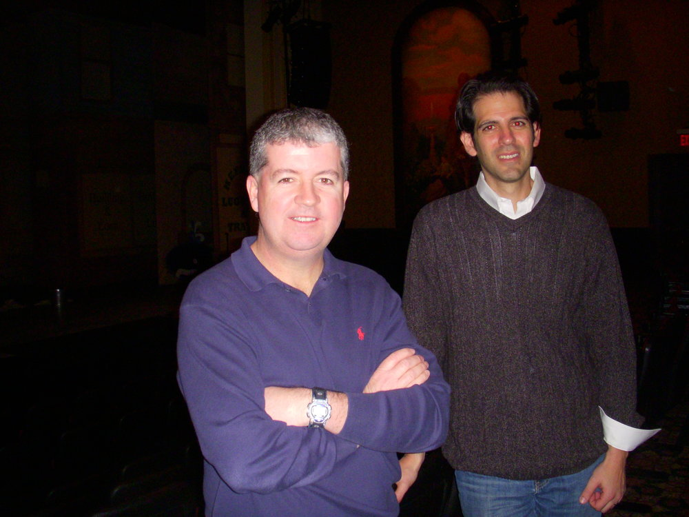 John W. Engeman Theater's Managing Director Kevin J. O'Neill, left, and Producing Artistic Director Richard T. Dolce.