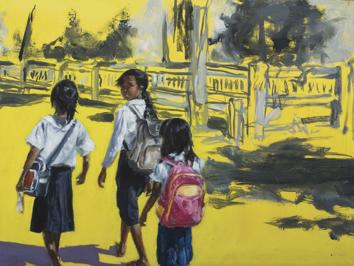 """The Walk,"" by Ava Xu, of Cold Spring Harbor High School."