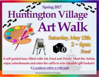Huntington Village        Art Walk~Spring~2017