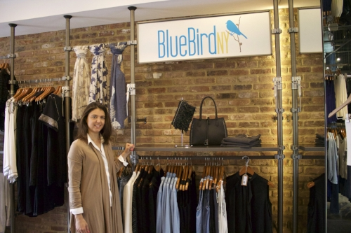 Long Islander News photo/Janee Law Joanna Koelmel, owner of Blue Bird NY Boutique, said the store in Huntington village will be bringing in fresh new items just in time for Mother's Day.