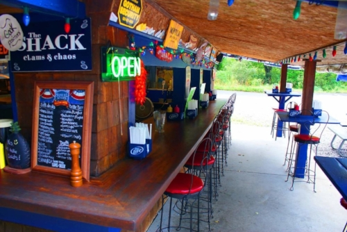 The Shack at 1 Stony Hollow Road in Centerport is now open for the 2017 season.