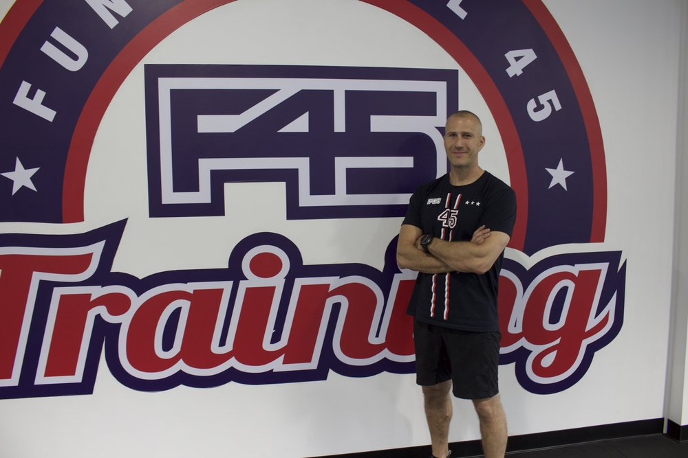 Long Islander News photos/Janee Law  Marc Arnberg, co-owner and trainer of F45 Training in Dix Hills, said the idea for the facility is to create a community of like-minded people.