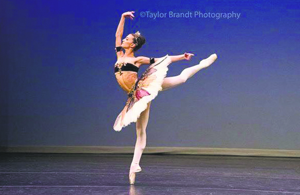 Photo by Taylor Brandt Photography Juliana Missano, of Lloyd Harbor, said that her favorite thing about being a ballet dancer is to be able to perform for people and express how she feels through movement.