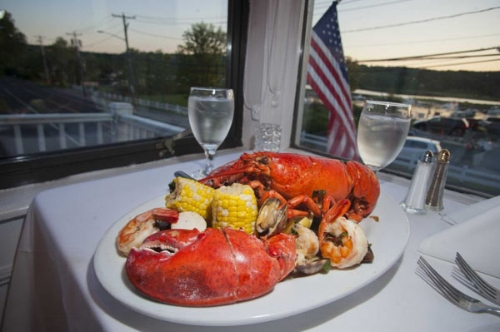 Harbor Mist in Cold Spring Harbor offers a lobster special on Wednesdays and Thursdays.