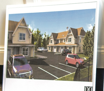 The second phase of apartments planned for Creek Road in Huntington.