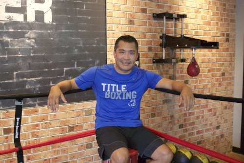 Long Islander News photos/Janee Law  Danny Cordova, owner at Title Boxing Club in Huntington village, attributes the businesses growing success to the culture and community they have created since he took over.