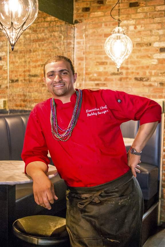 Long Islander News photos/Jano Tantongco   Louisiana-born and bred executive chef Bobby Bouyer aspires to bring diners authentic cuisine that's more Creole than Cajun.