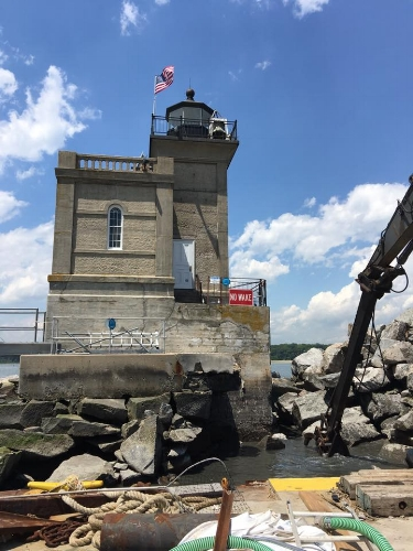 Photo/Huntington Lighthouse Preservation Society The Huntington Lighthouse Preservation Society has cancelled its annual music festival due to safety concerns brought on by the ongoing lighthouse restoration project.