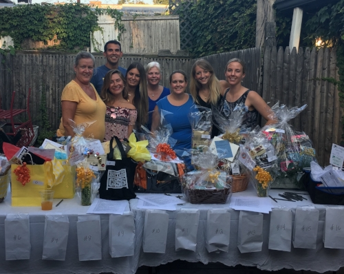 Huntington community members took part in a fundraiser honoring the memory 12-year-old Ryan John Weiss, who lost his life in a sailing lesson accident last month.