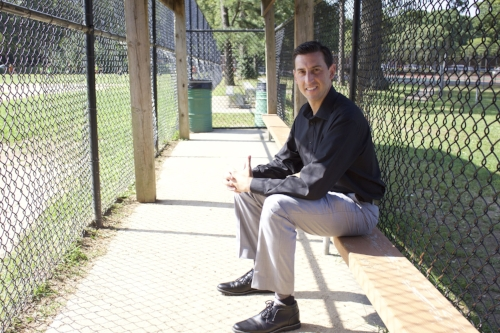 Michael Tinney, co-partner of the 495 Wolfpack Baseball, will help lead six new teams, with the fall season starting Saturday.   Long Islander News photo/Janee Law