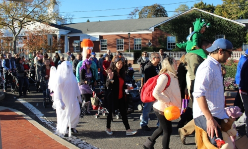 The Town of Huntington's  Children's Halloween Costume Parade will march through Huntington village on Tuesday, Oct. 31.  Long Islander News Photo/Archives