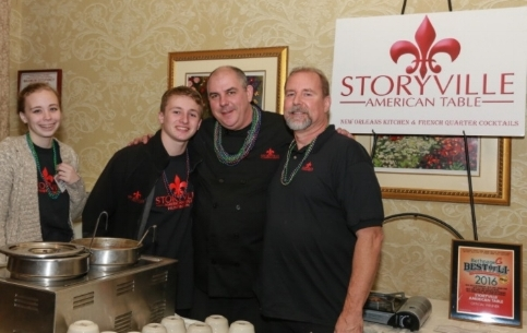 "Storyville American Table was one of many Huntington-area restaurants to participate in last year's   ""Great Chefs of Long Island""   event."