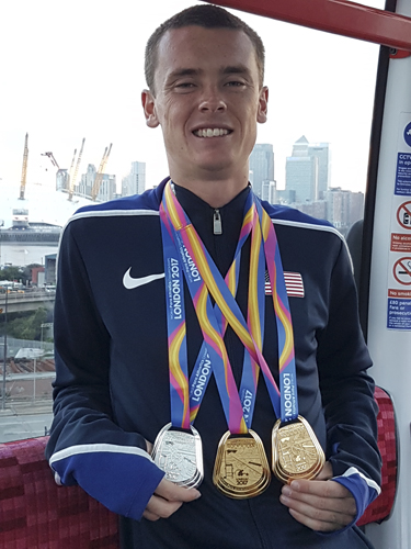 You can vote from Michael Brannigan for Male Paralympic Athlete of the Year through Oct. 30.
