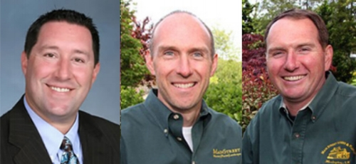Jarrett Stein, Assistant Principal at Woodhull School, and Bob and Rich McKean, co-owners of Main Street Nursery, will be honored at Huntington Foundation's 2018 Reach for the Stars Gala.