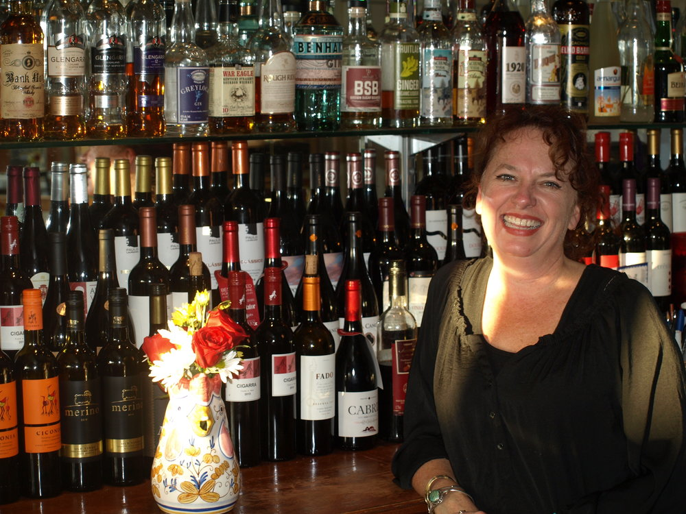 Fado's owner Alison Steindler opened the Portuguese restaurant seven years ago to bring a taste of Portugal to Huntington.   Long Islander News Photo/Connor Beach