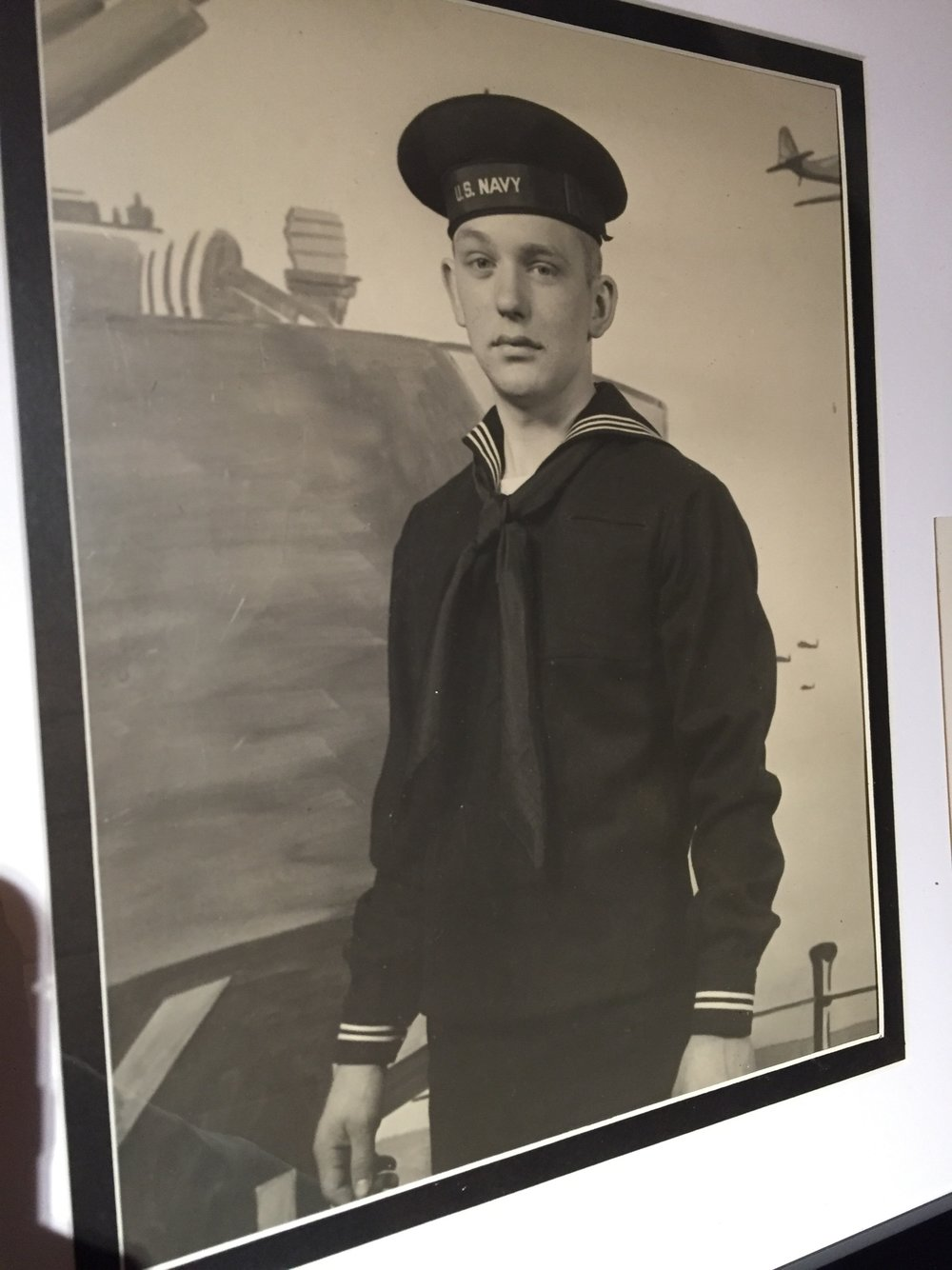 George Kunz went into the U.S. Navy when he was 17 years old, where he was a motor machinist's mate, second class and assigned to the USS LCI(L)-590.   Photo by Steve Bartholomew
