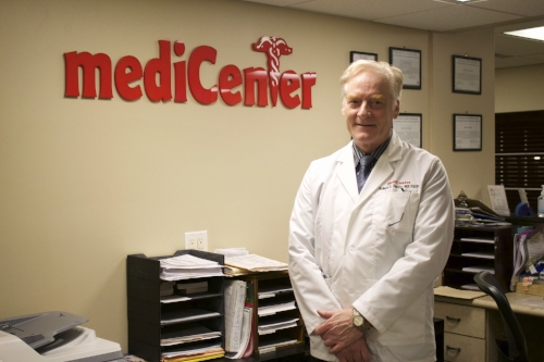 Dr. Robert Scully, medical director of the Huntington Station and Northport Medicenter locations, said he opened to provide more convenient service to patients.   Long Islander News Photo/Janee Law