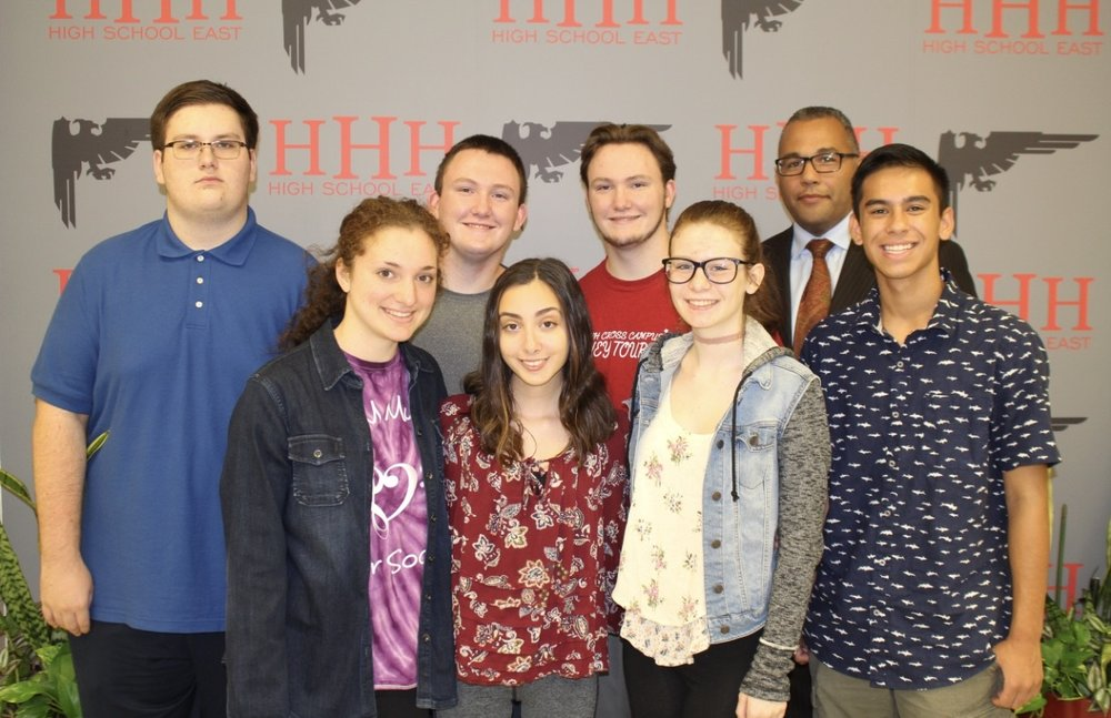 Students of high schools East and West who were selected to perform at NYSSMA's 82nd annual conference, which was held in upstate Rochester from Nov. 30-Dec. 3.   Photos courtesy of Half Hollow Hills School District