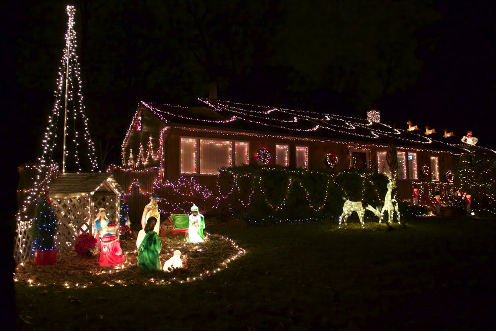 - Resident's Holiday Lights Map Grows €� Long Islander News