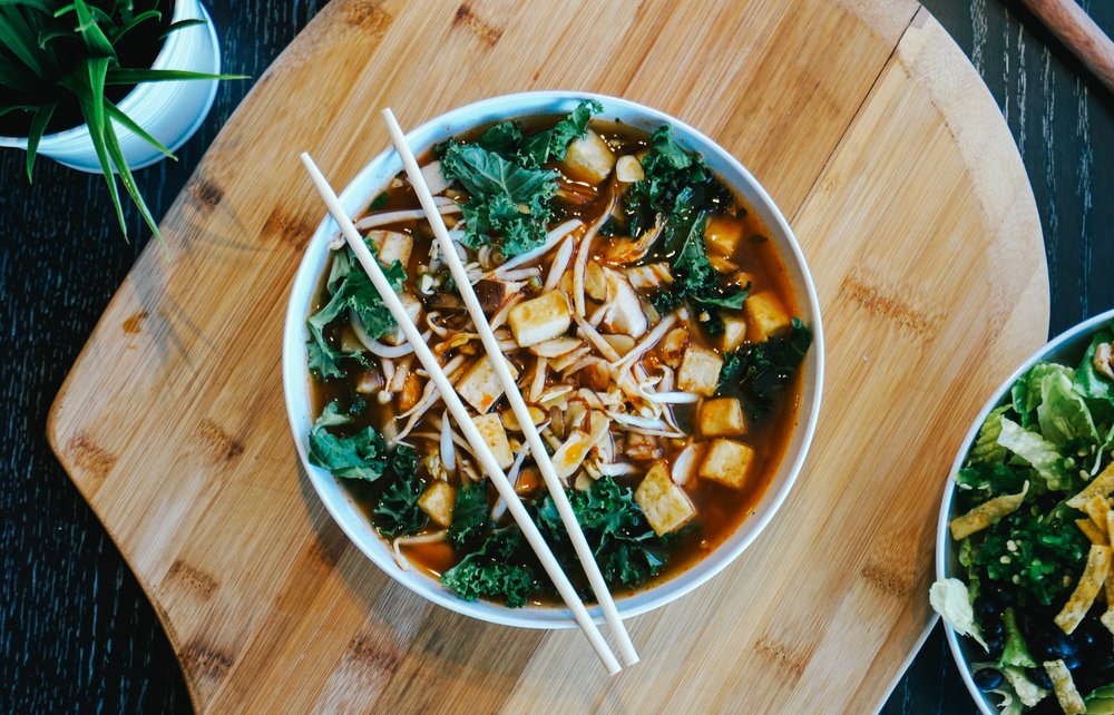 One of the bone broth bowls available at CoreLife Eatery.