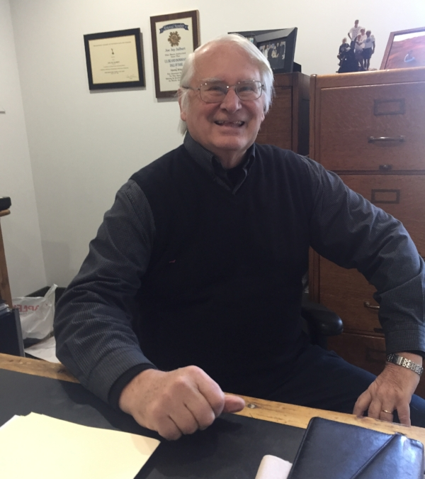 Andrew W. Lawrence Jr. has retired after 40 years from his position as prosecutor and special assistant district attorney for the Village of Huntington Bay.