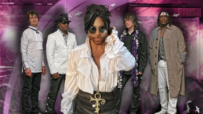 Purple Xperience, a renowned Prince tribute band, performs at The Paramount tonight.   Photo/Facebook/  The Purple Xperience