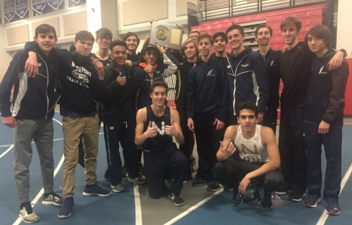 The Northport boys took the county title at Monday's large school track and field championships.   Photo by Jason Storm