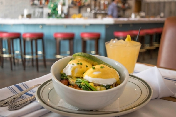 Dig into a breakfast bowl at The Shed.   Photo Credit: Melissa Sorice