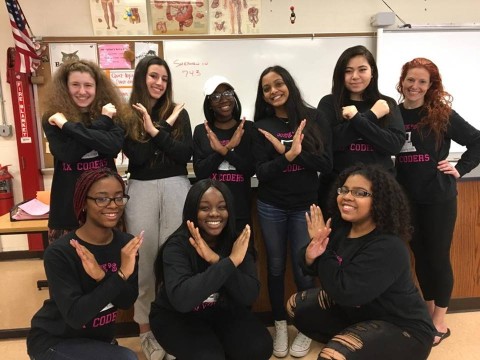 XX Coders, a nonprofit organization, bridges gender and racial gap to teach young girls how to code.   Photo/Xxcoders.com