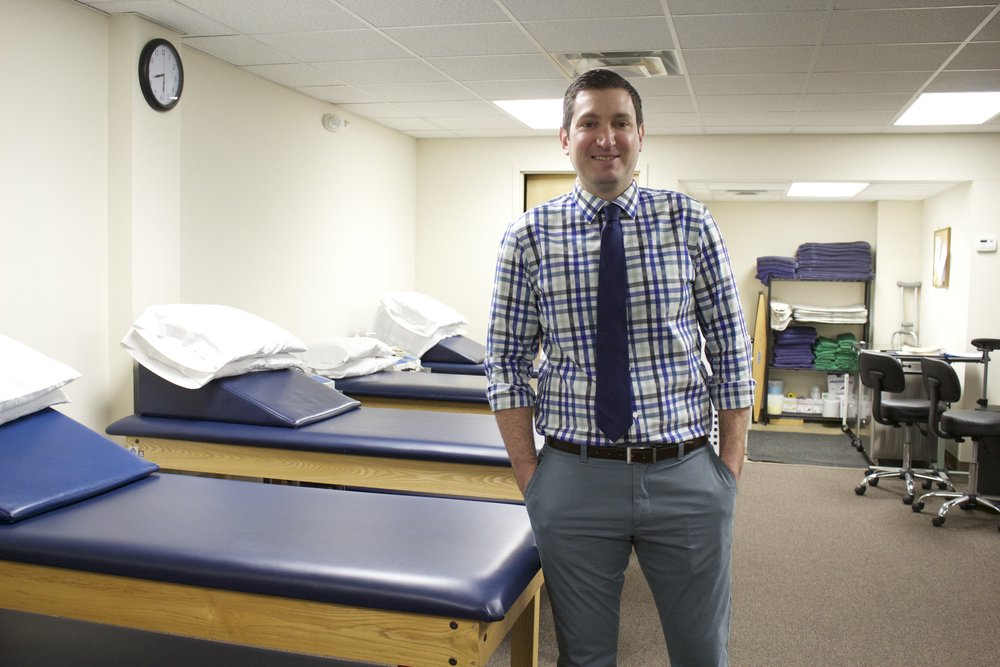 Dr. William VanVynck, DPT, ATC, wanted to become a physical therapy business owner to offer personal care, hands on and a one-on-one approach to patients.   Long Islander News photo/Janee Law