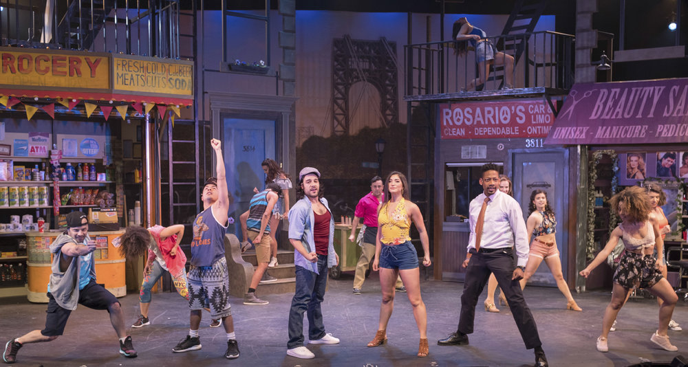 "The cast of the John W. Engeman Theater's production of ""In The Heights"" will leave audience members mesmerized with the performance of 96,000.""   Photos by Michael DeCristofaro"