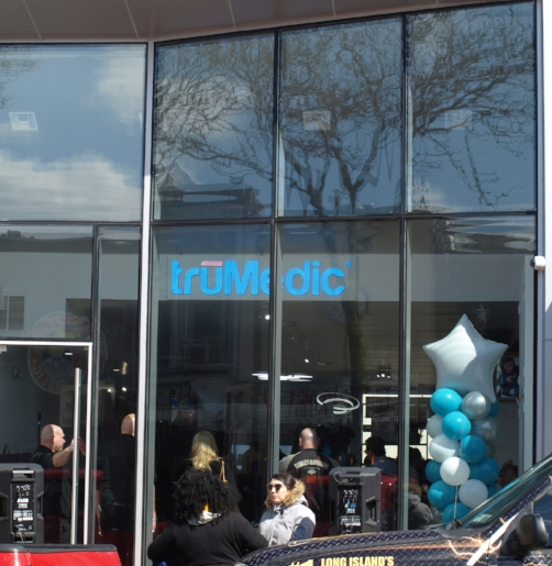 Massage and pain management company truMedic opened its first retail location at 338 New York Ave., Huntington village.