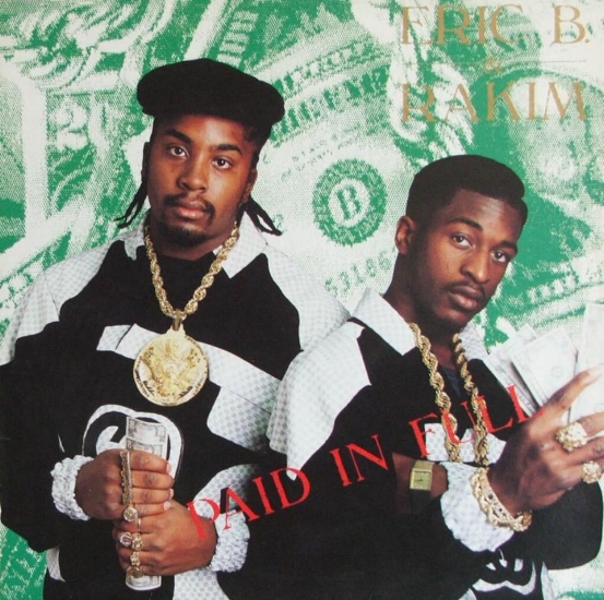 "Eric B., left, and Rakim featured on the cover of their 1987 album ""Paid in Full.""   (Photo/Facebook/Eric B. and Rakim)"